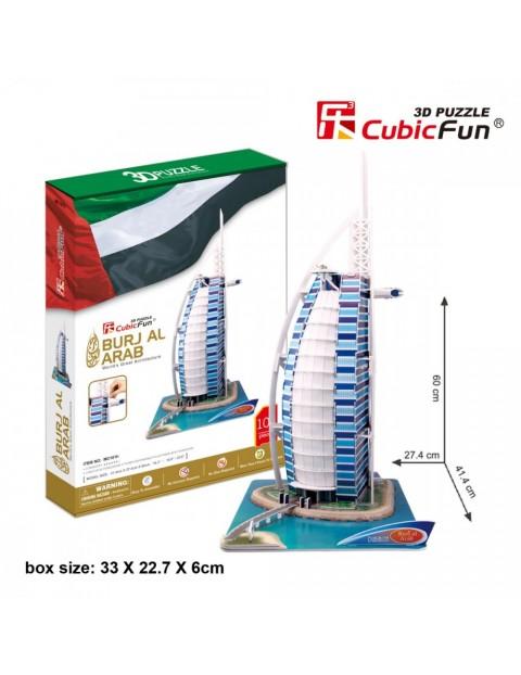 PUZZLE 3D Burjal Arab Ze staw XL101 El.