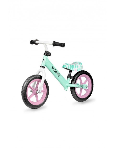 Rower biegowy dla dziewczynki Rebel miętowy do 25kg