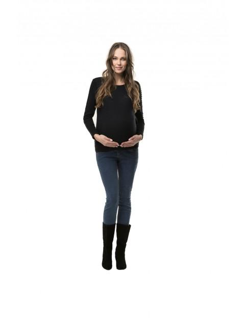 Bluzka ciążowa i do karmienia Crochet granatowa