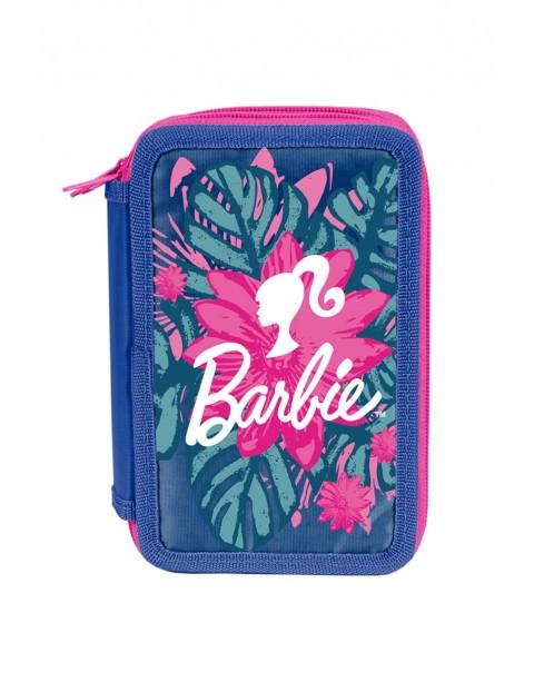 Piórnik jednokomorowy z wyposażeniem - Barbie