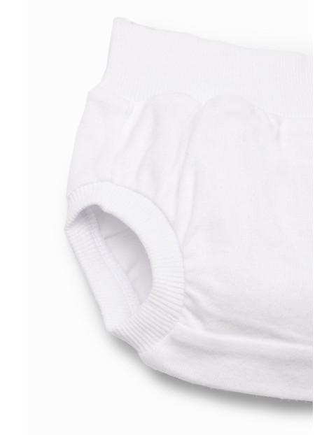 Majtki niemowlęce - białe