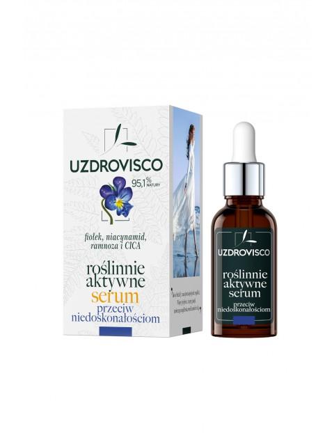 Uzdrovisco Fiołek Roślinnie aktywne serum przeciw niedoskonałościom 30 ml