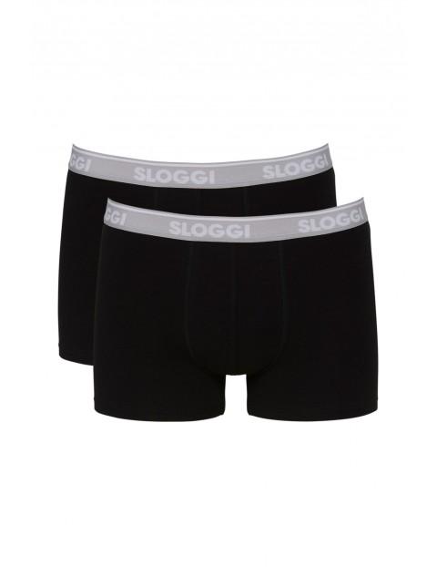 Bokserki męskie  GO ABC Short - 2 pak - czarne