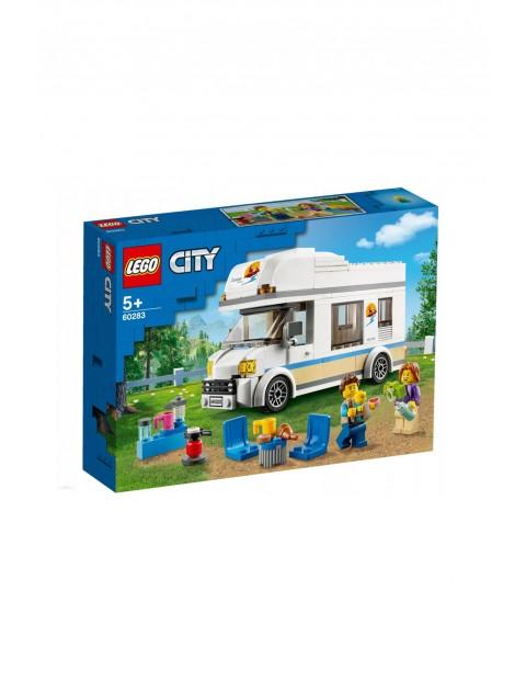 Lego City Wakacyjny kamper 60283 - 190 elementów wiek 5+