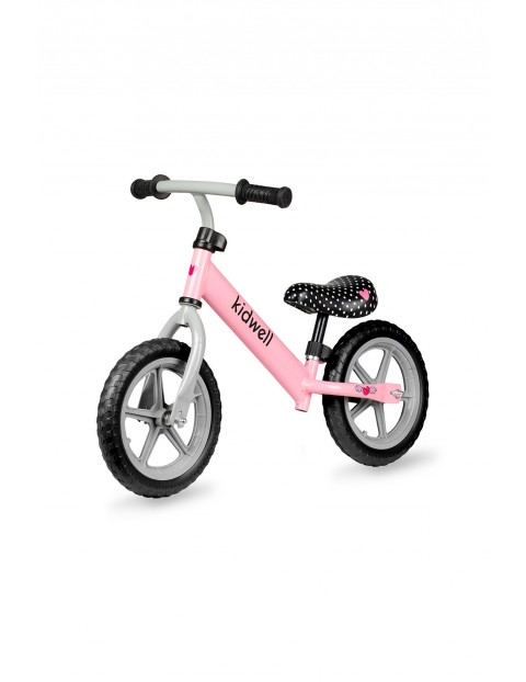 Rowerek biegowy dla dziewczynki Rebel różowy