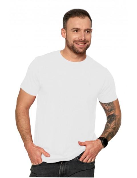 Klasyczny T-shirt męski idealny do casualowych stylizacji