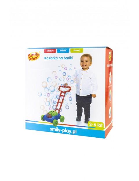 Kosiarka Bańki mydlane chodzik pchacz Smily Play wiek 3+