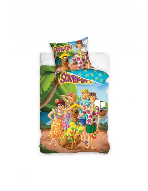 Scooby-Doo pościel bawełniana 160x200+70x80 cm