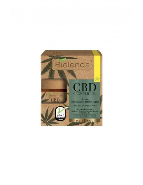 CBD Cannabidiol Krem nawilżająco.-detoksykujący z CBD z konopi siewnych c. mieszana, tłusta - 50 ml