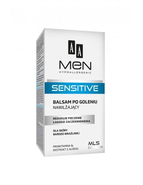 AA Men Sensitive Balsam po goleniu nawilżający dla skóry bardzo wrażliwej 100 ml