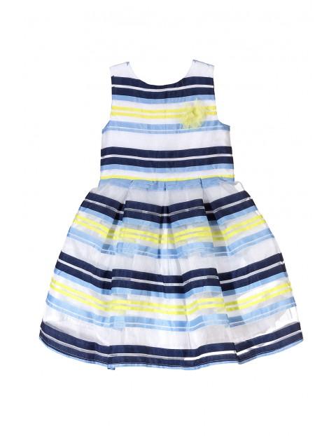 Sukienka dziewczęca 3K3407