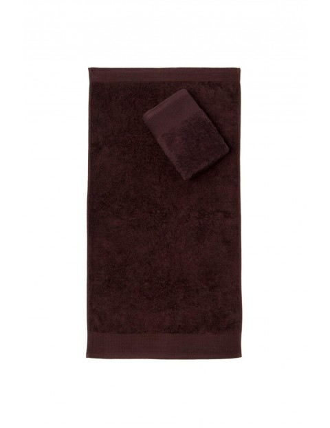 Ręcznik Aqua Frotte brąz 70x140 cm