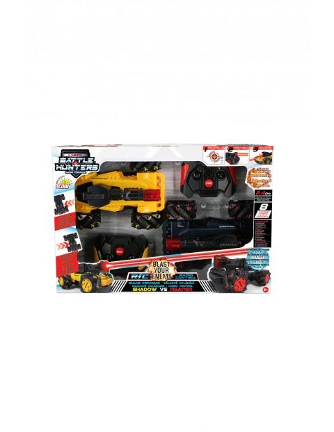 Laser Battle Hunters - Zestaw dwóch pojazdów RC wiek 5+