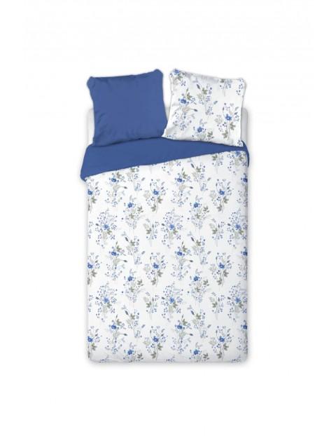 Pościel- niebieska łąka 160x200 + 2x70x80