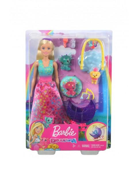 Barbie Dreamtopia - Baśniowe przedszkole Lalka Księżniczka, Smoki i Szczeniak wiek 3+