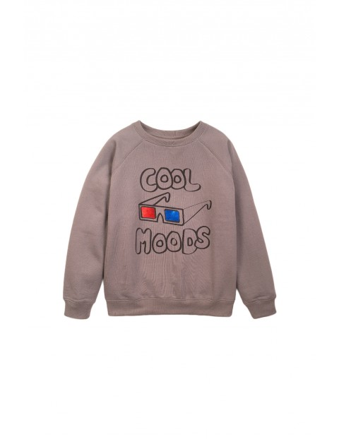 Bluza dresowa chłopięca szara- Cool Moods