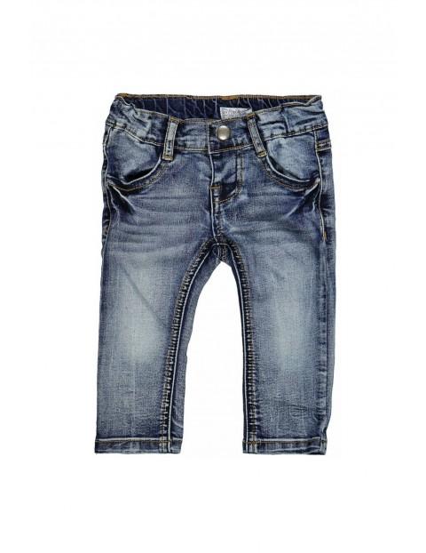 Spodnie chłopięce jeansowe 1L35BO