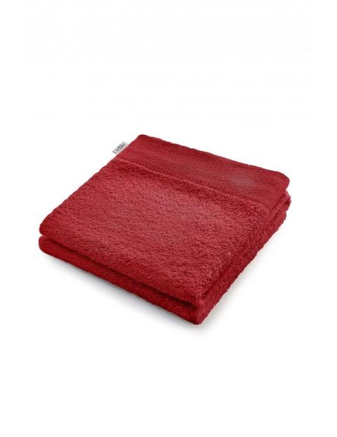 Ręcznik bawełniany AmeliaHome bordowy - 70x140 cm