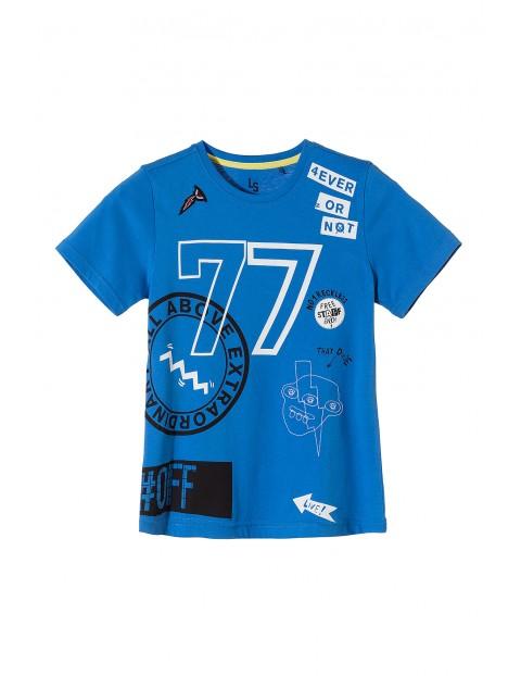 T-shirt chłopięcy 100% bawełna 2I3504