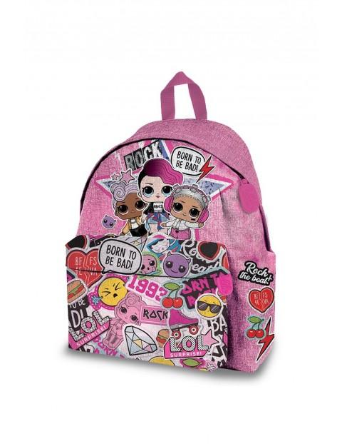 Plecak szkolny dla dziewczynki LOL Surprise