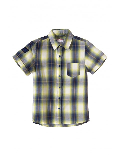 Koszula z krótkim rękawem dla chłopca