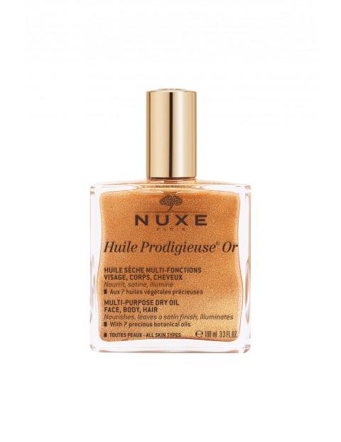 Nuxe Huile Prodigieuse Or Suchy olejek o wielu zastosowaniach ze złotymi drobinkami 100 ml