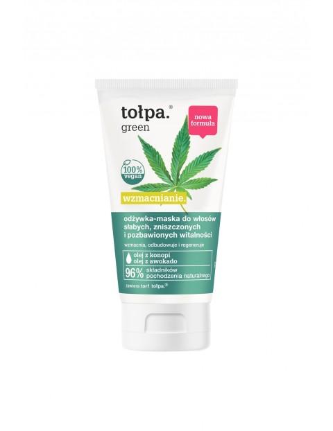 Tołpa green wzmacnianie-odżywka-maska do włosów 150 ml