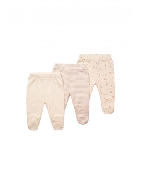 Półśpiochy niemowlęce 3pak- wyprawka dla niemowlaka