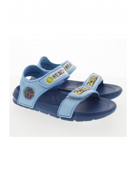 Niebieskie sandały chłopięce Pidżamersi