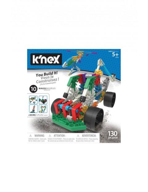 K'Nex - Zestaw konstrukcyjny 130 el- 10 modeli wiek 5+