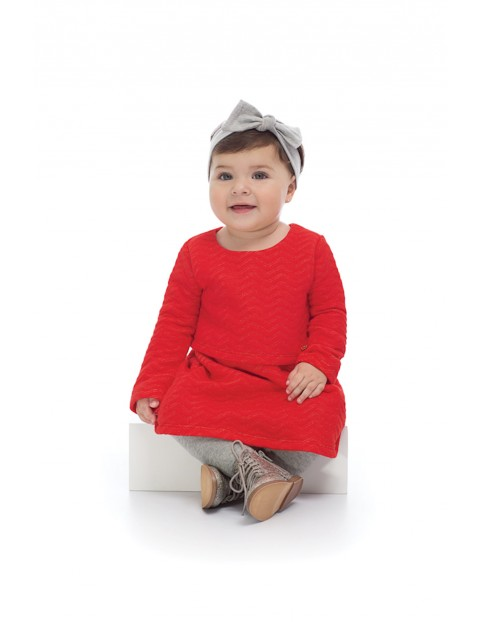 Sukienka dziewczęca czerwona