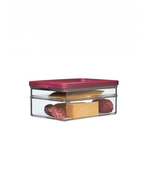 Pojemnik na wędliny i sery OMNIA 2-poziomowy BERRY