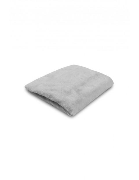 Pokrowiec na przewijak szary bawełniany 50/60x70/80