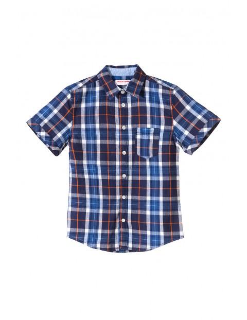 Koszula chłopięca krótki rękaw 2J3414