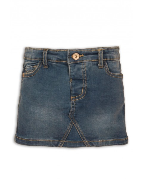 Spódnica jeansowa dziewczęca