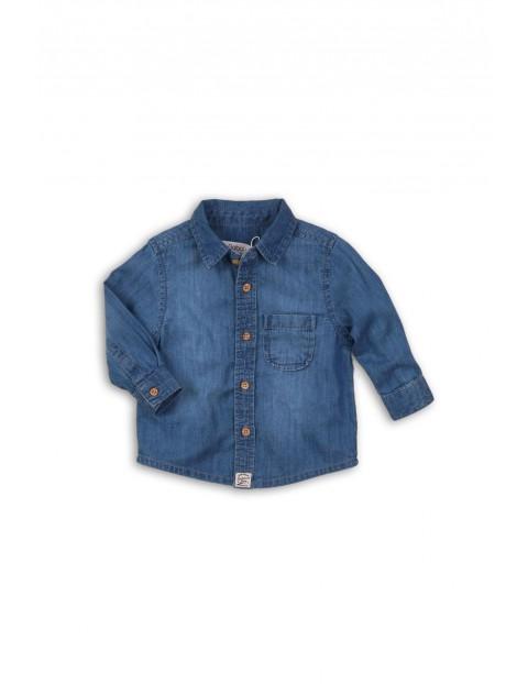 Koszula niemowlęca jeansowa 5J34A3