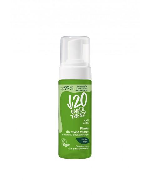 Under Twenty Anti Acne Pianka do mycia twarzy o działaniu antybakteryjnym 150 ml