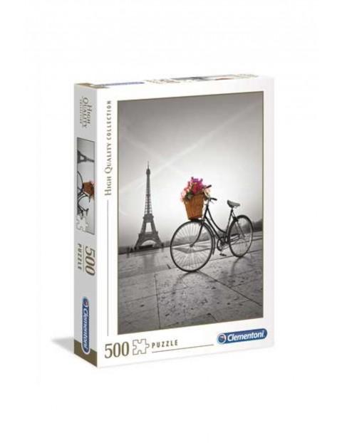 Puzzle Romantyczna promenada w Paryżu - 500 el