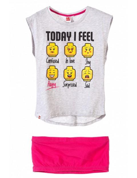 T-shirt dziewczęcy LEGO 4I34AM