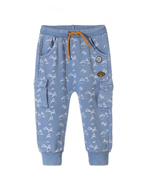 Spodnie dresowe niemowlęce 5M3517