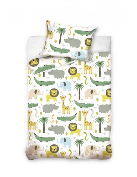 Pościel bawełniana dla dziecka Safari - 140x200 cm