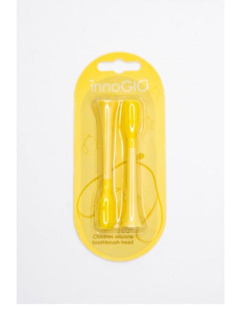 Wymienne główki do szczoteczki sonicznej innoGIO żółte 2szt