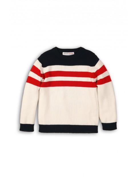 Sweter dla chłopca- paski