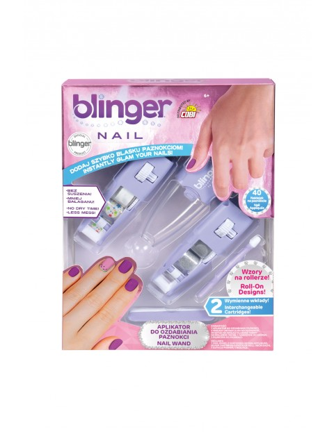 Blinger – Zestaw do ozdabiania paznokci wiek 6+