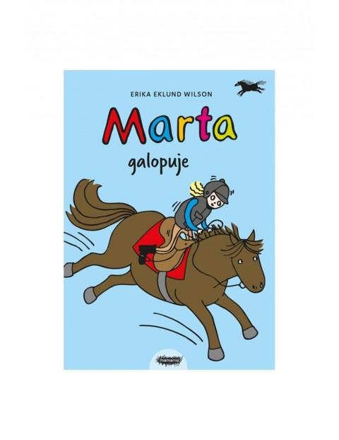 """Książka dla dzieci """"Marta(#2) galopuje"""" E.Wilson"""