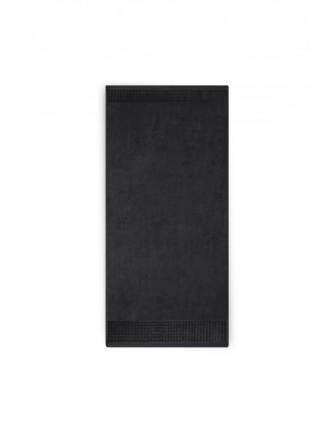 Ręcznik Paulo z bawełny egipskiej  50x100 cm - czarny