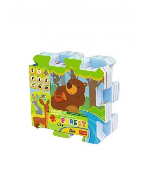 Układanka edukacyjna puzzlopianka- Las Trefl