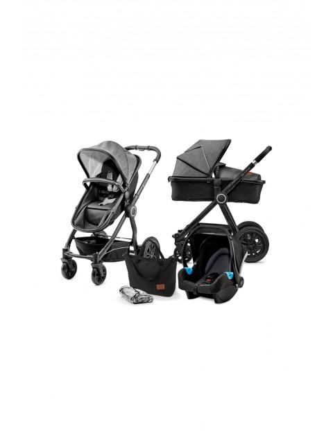 Kindekraft wózek wielofunkcyjny 3w1 VEO-szary
