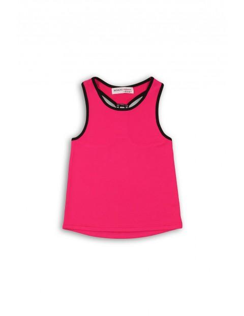 Różowy sportowy top dla dziewczynki