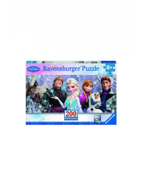 Puzzle panoramiczne Disney Kraina Lodu - Przyjaciele 200el